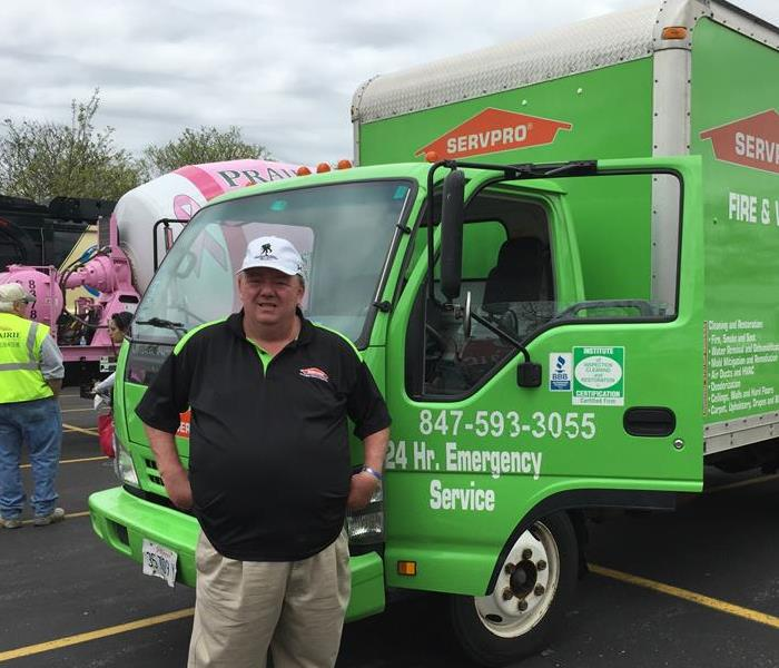 SERVPRO and the Palatine Park District Big Trucks Event