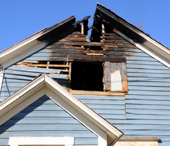 Home Fire Damage – Elk Grove