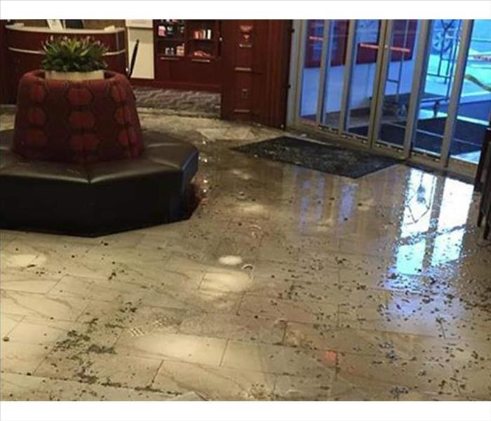 Flood in a Bank Lobby - Elk Grove