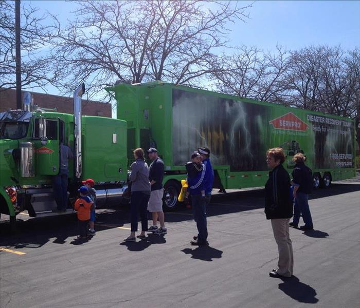 Storm Damage - Palatine Big Truck Event